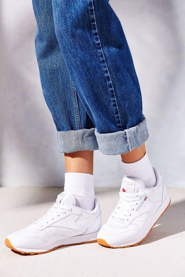 Slide View: 2: Reebok Classic Gum Sole Sneaker