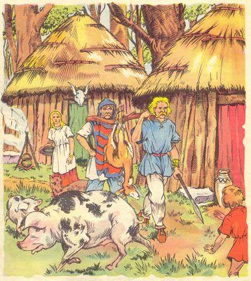 La rentrée des chasseurs gaulois. L'illustrateur Henri Dimpre (1907-1971)