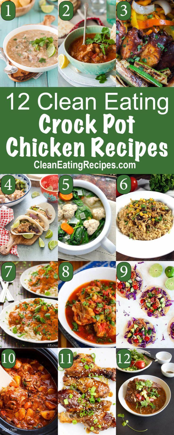 Clean Eating Crock Pot Recipes Index