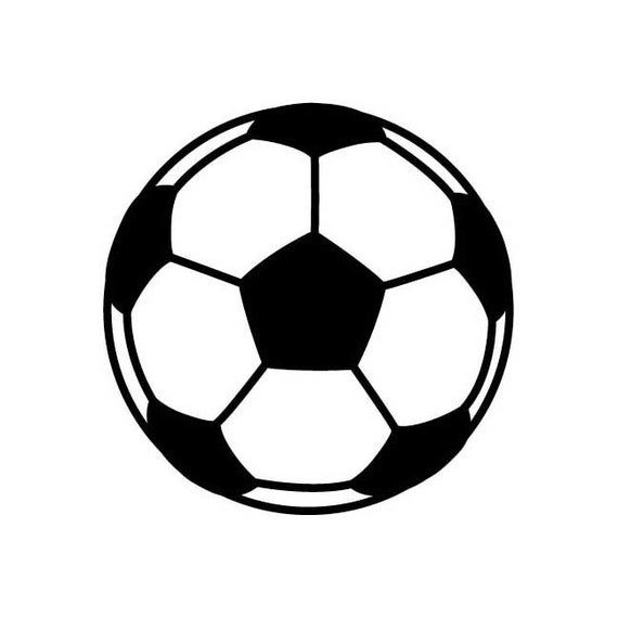 Soccer Ball Soccerball Futbol Instant Download 1 Vector Eps Etsy In 2020 Soccer Ball Soccer Futbol