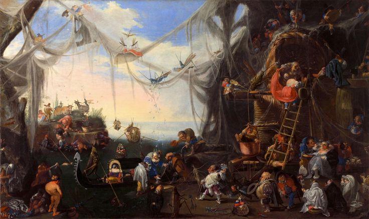 Faustino Bocchi, l'arrivo della sposa, fine del 17 ° o 18 ° secolo