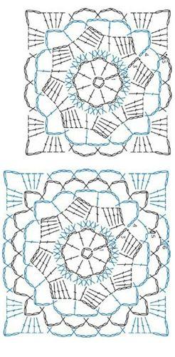 3409 besten crochet motif Bilder auf Pinterest | Häkelmaschen ...