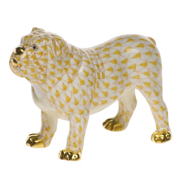 Herend Bulldog: Hands Paintings, Herend Porcelain, Herend Bulldogs Thi, Herend Art, Figurines, Bulldogs Hands, Herend Bulldogs So, 11 Herend Oaxaca, Boston Terriers