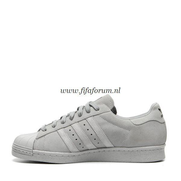 Adidas Superstar Heren Grijs