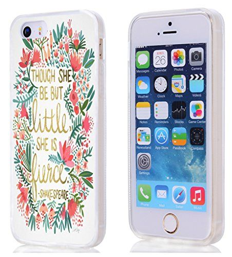 Iphone 5 Case , Apple Iphone SE / 5S Case Though She Be B...