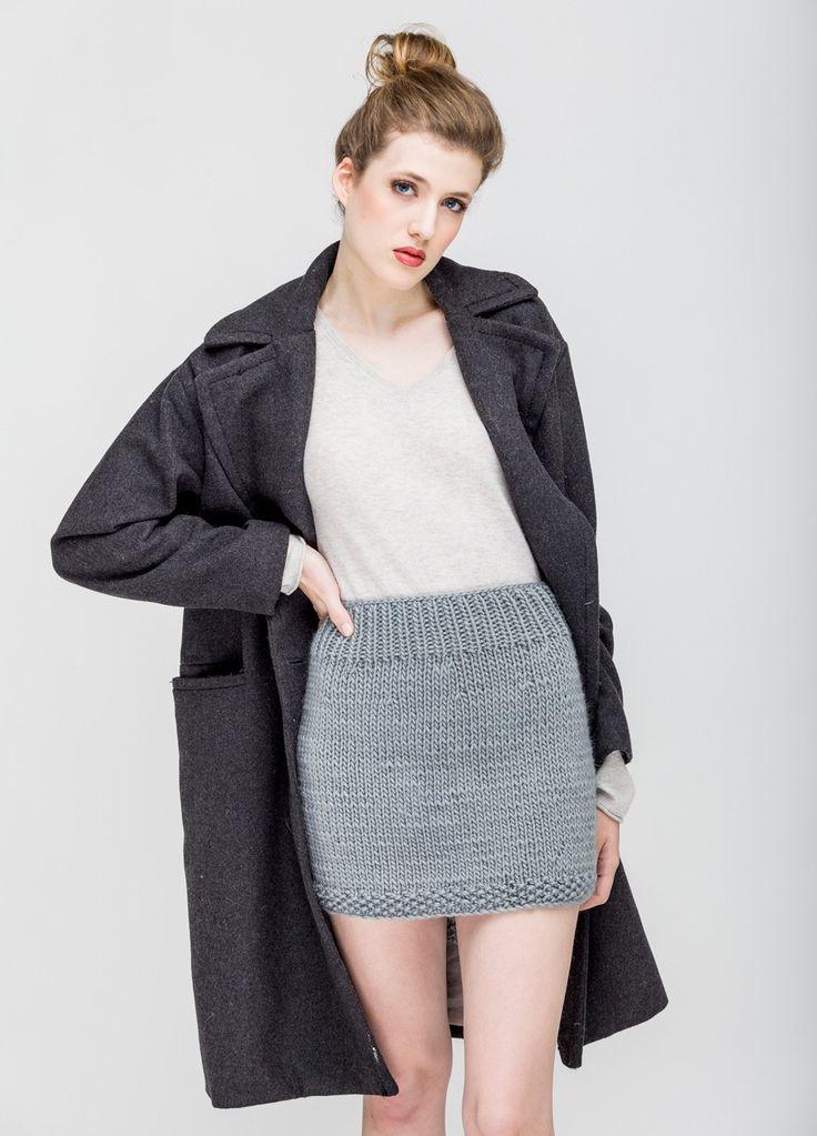 Skirt - knitting - A tester, la petite jupe en laine