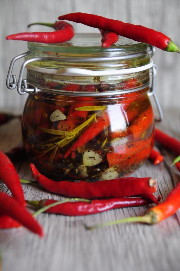 Papryczki chilli w oleju