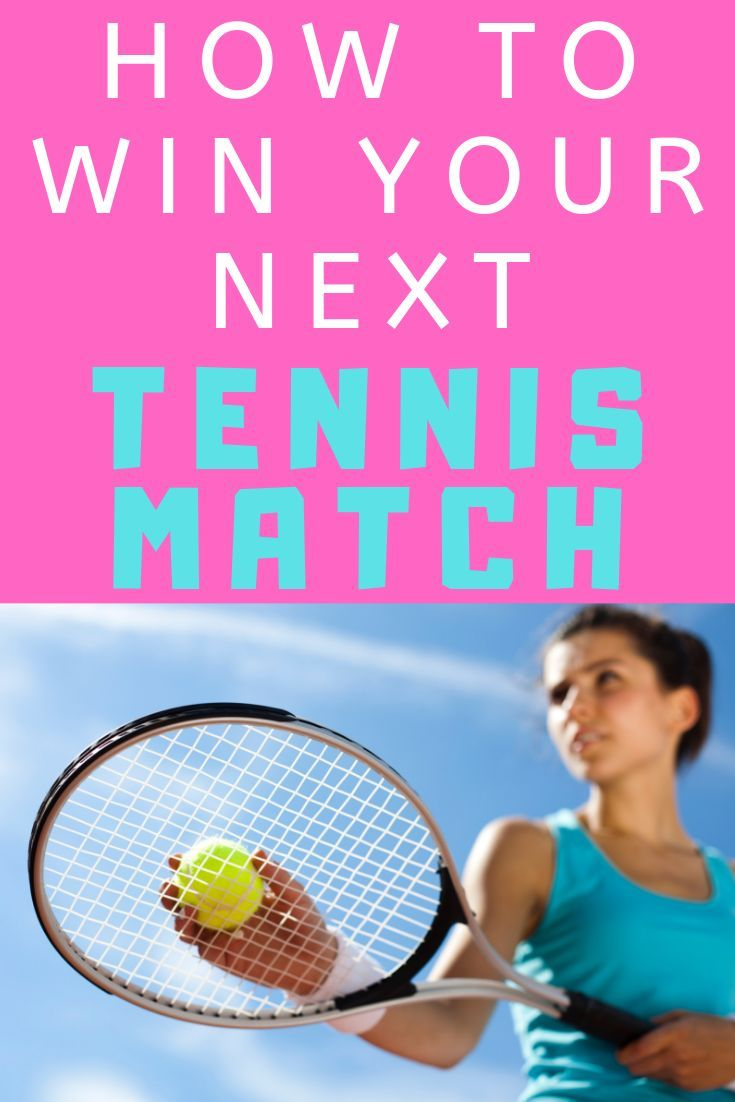 These Awesome Tennis Tips Will Help You Win Your Next Tennis Match Learn How To Have A Winning Tennis Strategy Simple Ten Tennis Scores Tennis Match Tennis