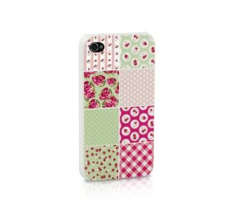Patchwork Floral iPhone case - Iphone 4 and 5