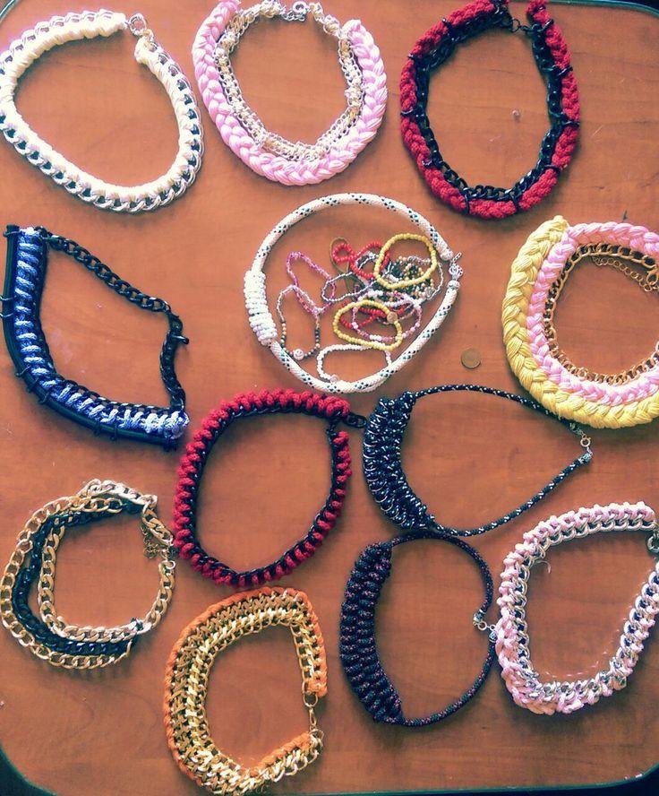 Statement Necklaces. Handmade.
