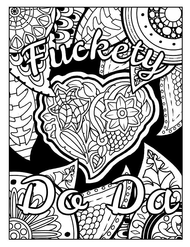 3 Free Swear Word Coloring Pages Check Out These