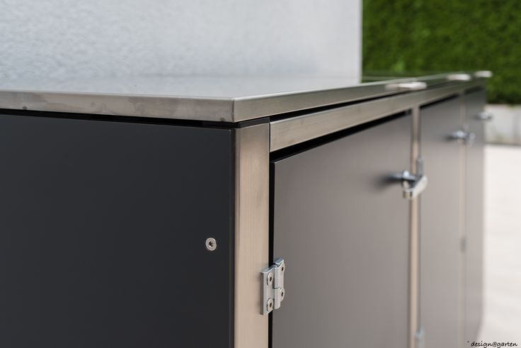 Mülltonnenverkleidung (@)boxx by design@garten, Augsburg-Germany. Projekt in Winterthur - Schweiz