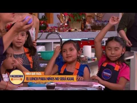 Receta: Hotcakes de avena y plátano   Cocineros Mexicanos - YouTube