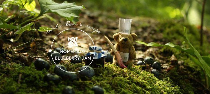 Homemade Blueberry Jam : 跟呆萌毛毛熊Turbo Bear學做手工果醬 1