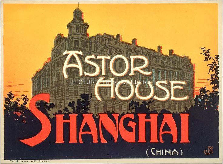 Astor House Shanghai China