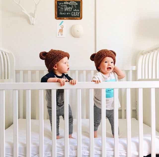 the only thing better than a baby, two babies! | @modernburlap loves