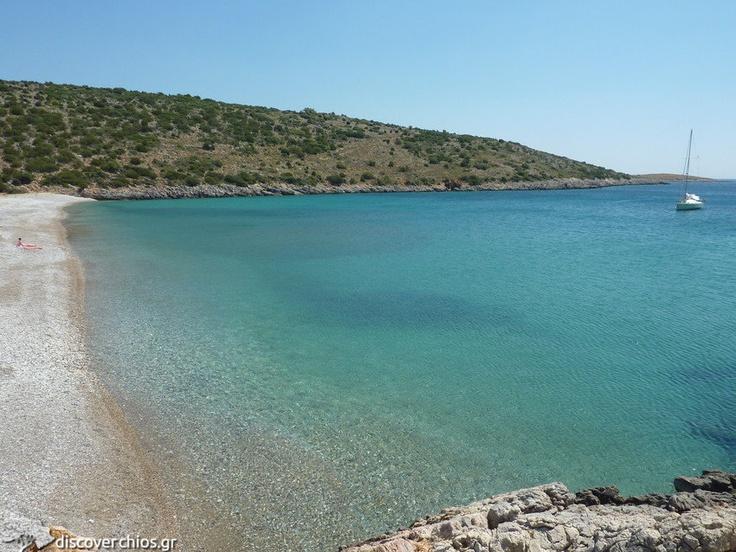Salagona Beach, near Olympi Village http://www.discoverchios.gr/salagona