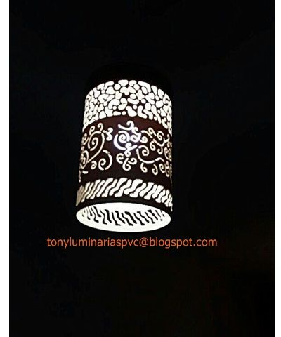 Venda de Luminária pvc, artesanato e outras idéias. hcotony@gmail.com