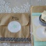 DIY bedankjespakket Mint en kraft  http://www.weddingwinkel.nl/Product/diy-bedankjespakket-mint/