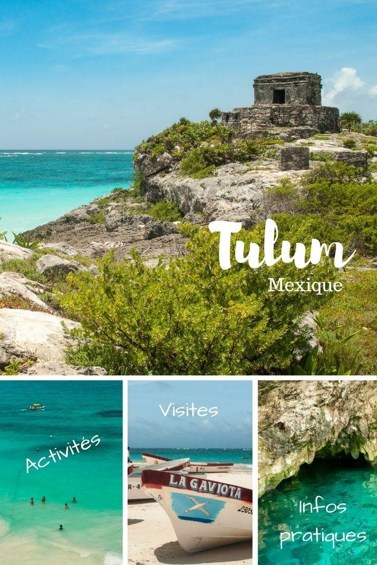 Tulum : des c�notes aux temples maya en passant par la plage. D�couvrez quoi faire � Tulum et ses environs au Mexique