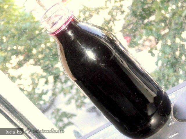 Sirop de Coacaze Negre, Pregatit la Rece