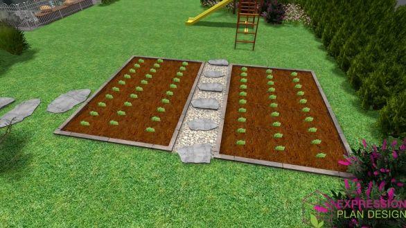 Id e pour un potager original jardin potager for Amenagement potager idees