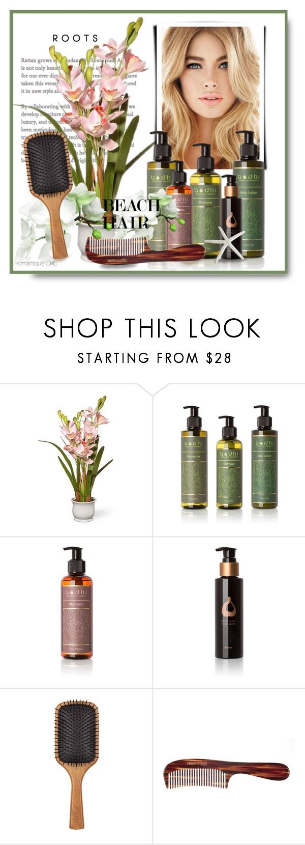 """""""~ Beach Waves ~"""" by romantiquechic ❤ liked on Polyvore featuring beauty, National Tree Company, Bodhi, Aveda and Mason Pearson"""