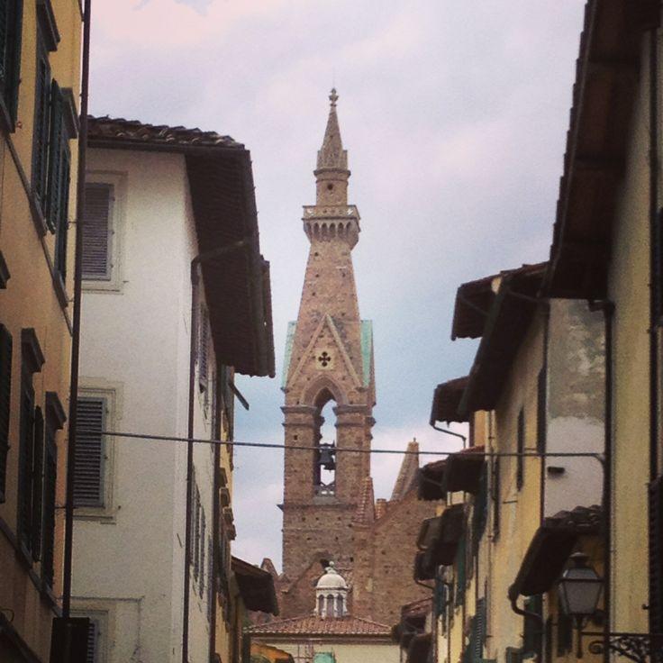 Santa Croce, detail of the church
