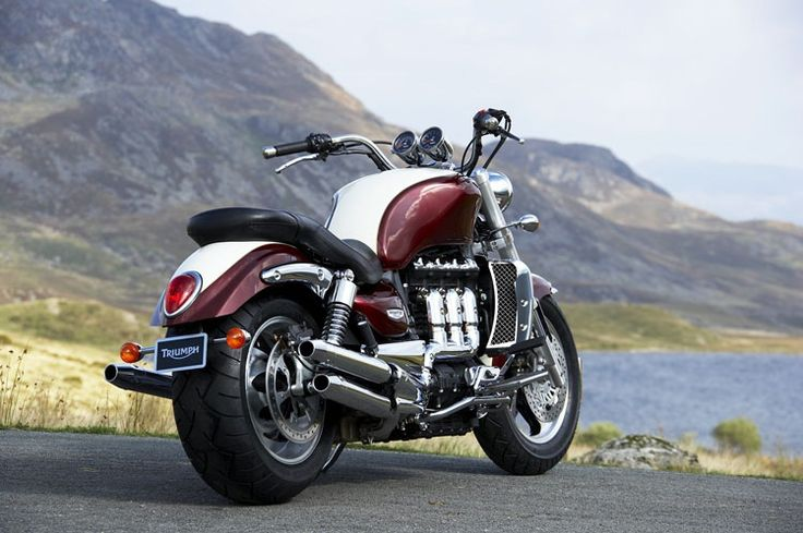triumph rocket iii, beautiful, but far too heavy for me. Oh yeah, and I haven't learned to ride!