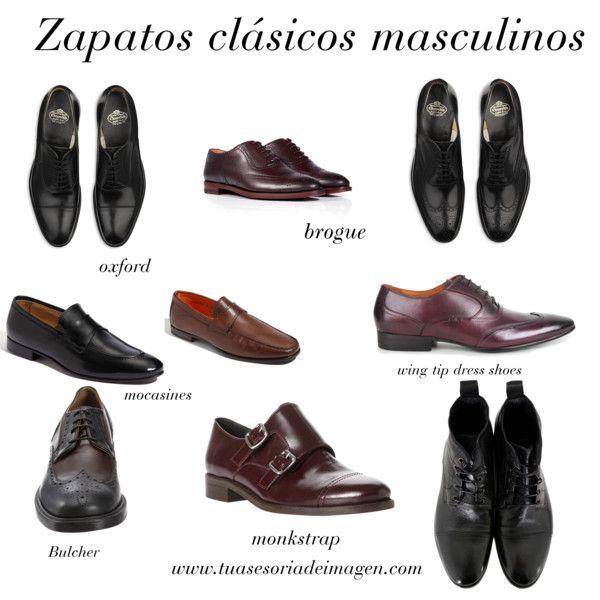zapatos clásicos masculinos: oxford, brogue, monksrap, mocasiones etc