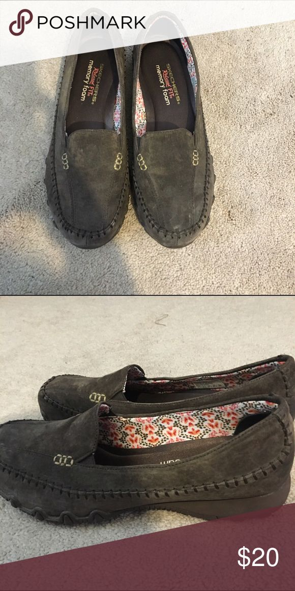 Skechers slip on shoes Skechers slip on shoes! Never been worn Skechers Shoes Flats & Loafers