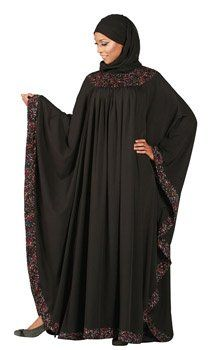 #Hijab #Abaya Confetti Butterfly Kaftan Abaya  - one of my hijab style needs.
