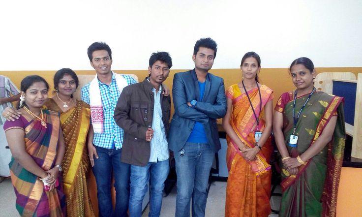 Teachers & Students of Acharya  Polytechnic, Bangalore