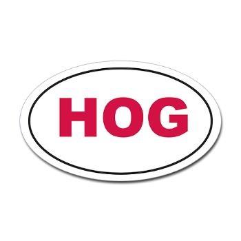 Red HOG vehicle sticker! Only $5.00! #Razorback #WPS #Arkansas #Hog #Football #SEC