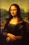 Mona Lisa (La Gioconda) c. 1503-05  by Leonardo Da Vinci