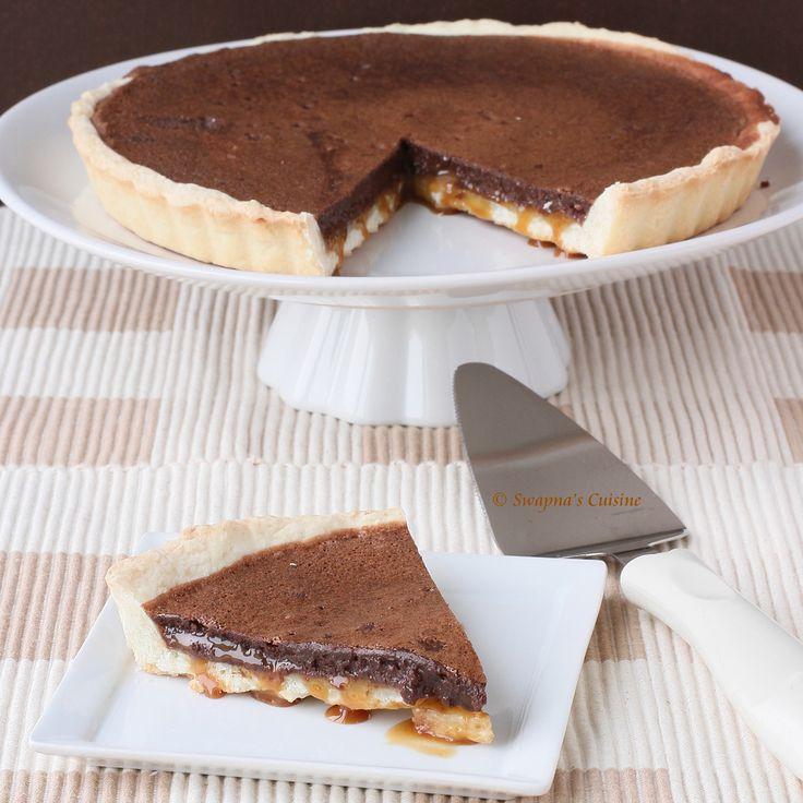 Chocolate and Caramel Tart ~ June Daring Bakers' challenge, Life Of ...