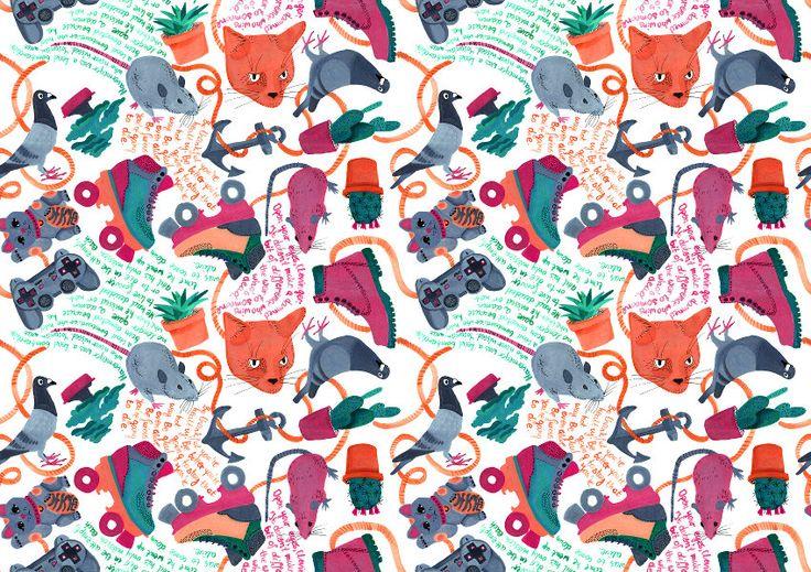 Catch 22 (Custom) – OneBee #pattern #cat #pigeor #customized #gamepad #catch22 #gift #