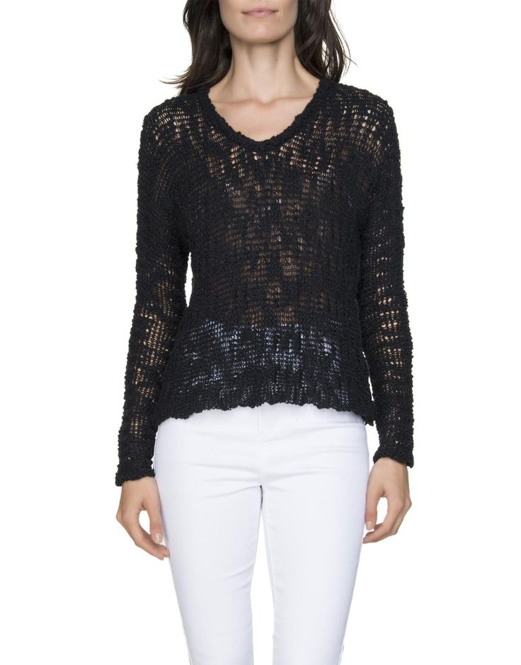 Cutout Knit Pullover