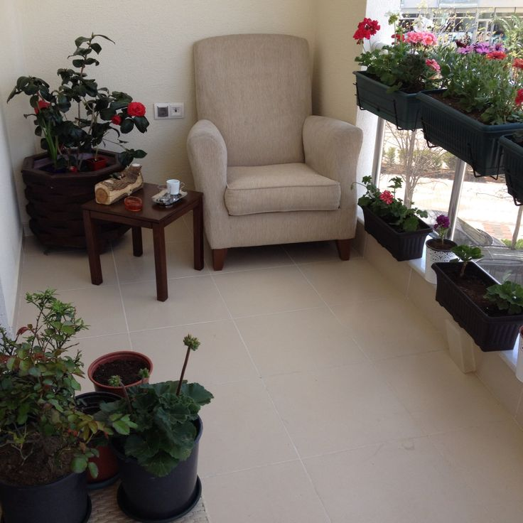 Myhome/Myflowers/Balcony/coffeecorner