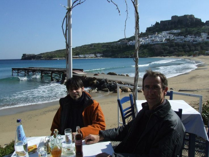 With a great friend @juanjuanola in Lindos - Rodos.