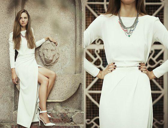 Be Free Dress, Stradivarius Shoes, H&M Necklace