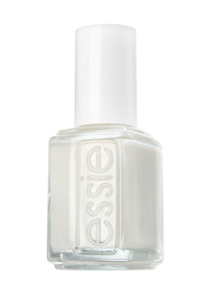 Valkoiset kynnet ovat trendikkäät!   Get the Look: http://www.netanttila.com/shop/fi/netanttila/kasien--ja-kynsienhoito/essie-kynsilakka-9248931