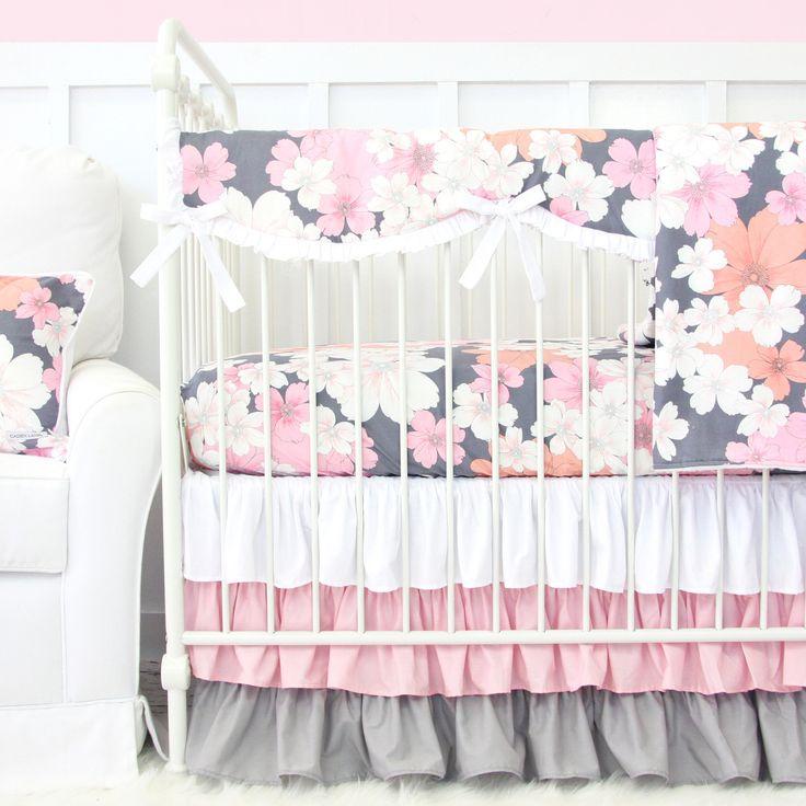 Caden Lane Baby Bedding - Addison's Pink
