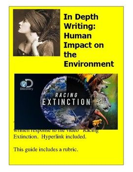 science and environment essay