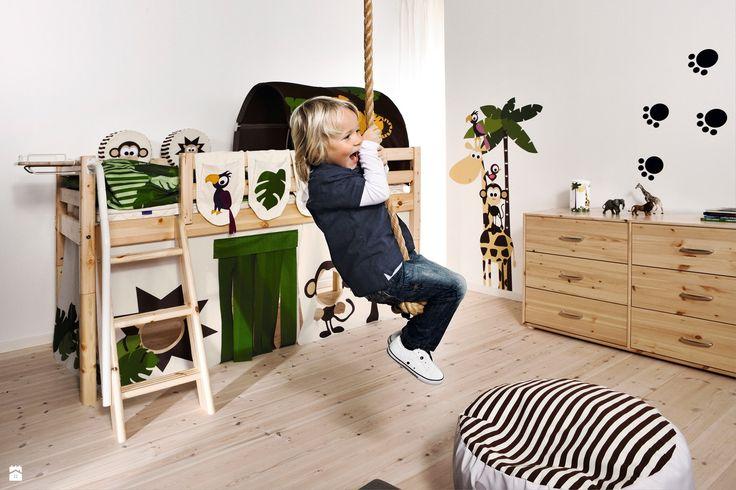 Łóżko sosnowe w nowoczesnej stylizacji - zdjęcie od Flexa - Pokój dziecka - Styl Skandynawski - Flexa