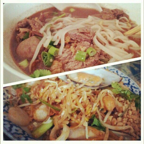 Phuket Thai  ローカルに愛される、タイ料理レストラン。海鮮タイヌードルスープが美味しい。 (本当にローカルばっかりです)  TEL:808-942-8194 営業時間:11:00〜22:15 open