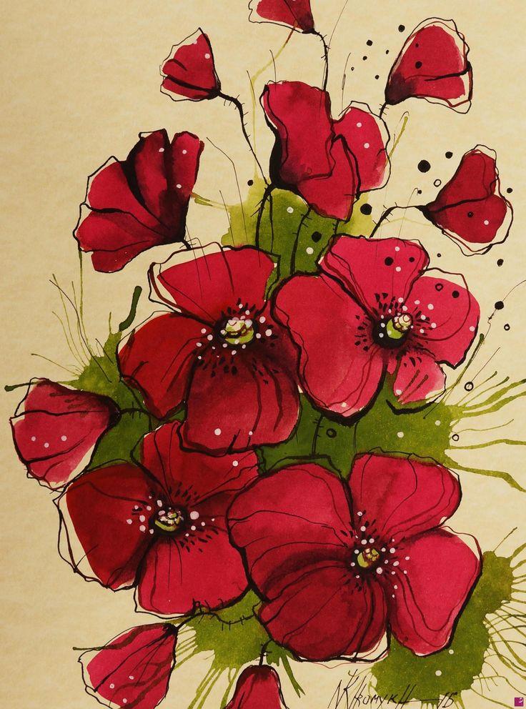 papaveri rossi di Natalia Khromykh
