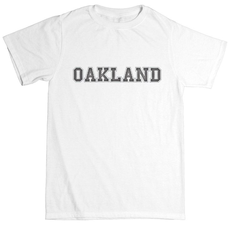 Oakland Football Club Toddler Cotton Crew Neck T-Shirt