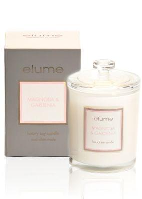Elume Luxury Magnolia Gardenia Candle
