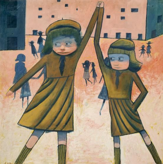Charles Blackman - The exchange